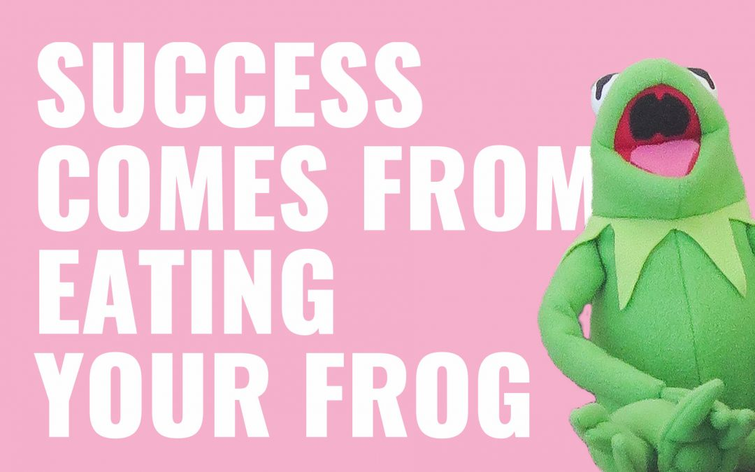Road to Success by Eating the Frog